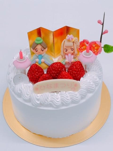ひなまつりケーキ|パティスリールルット