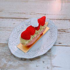 いちごとピスタチオのムラングシャンティ